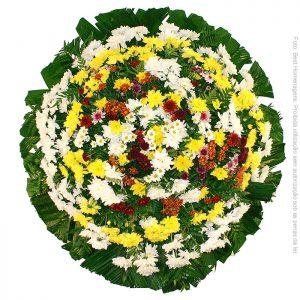 Coroa de Flores Popular Colorida